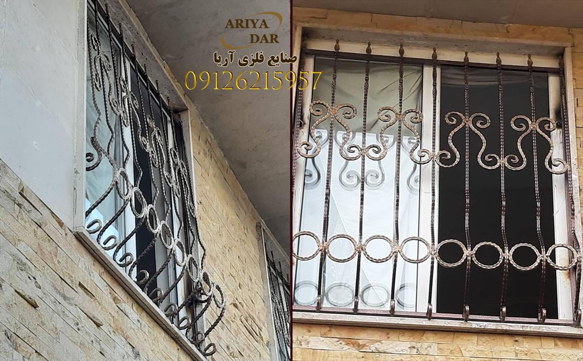 نرده حفاظ پنجره در تهران